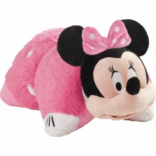 qfc pillow pets disney minnie mouse plush toy pink 1 ct