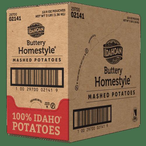 kroger idahoan buttery homestyle mashed potatoes case sale 12 ct 4 oz
