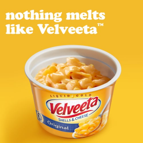 velveeta original shells cheese cups 4 ct 2 39 oz