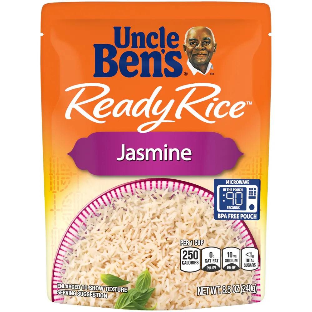 uncle ben s ready rice jasmine rice 8 5 oz
