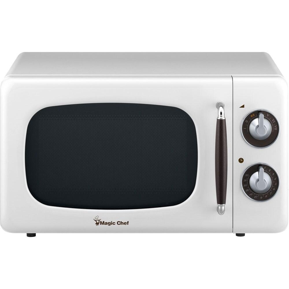 magic chef countertop microwave oven white 0 7 cu ft