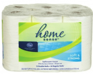 home sense bath tissue $3.99 at kroger - kroger couponing