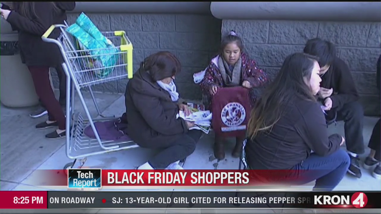 Tech Report: Black Friday shoppers