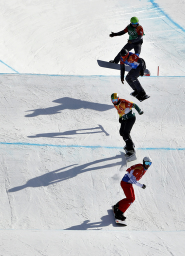 Pyeongchang Olympics Snowboard Men_723577