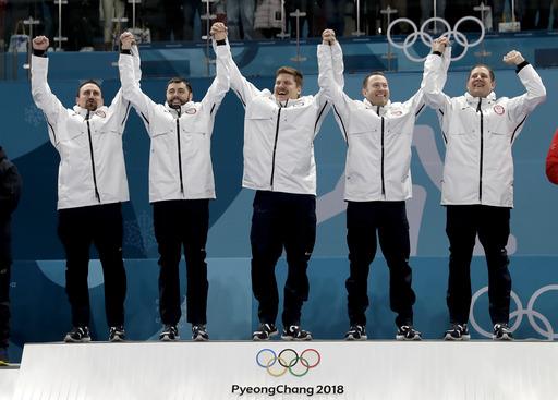 Pyeongchang Olympics Curling Men_730979