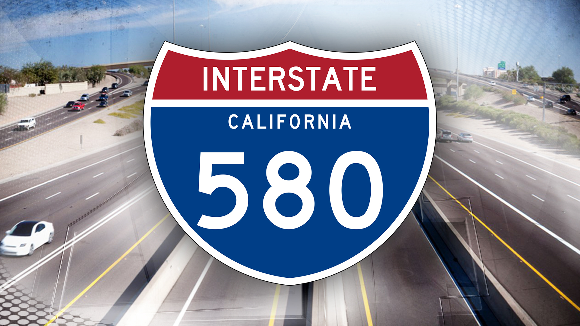 Crash shuts down two lanes on I-580 in Oakland