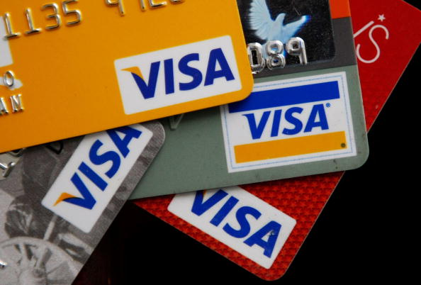 visa credit debit cards