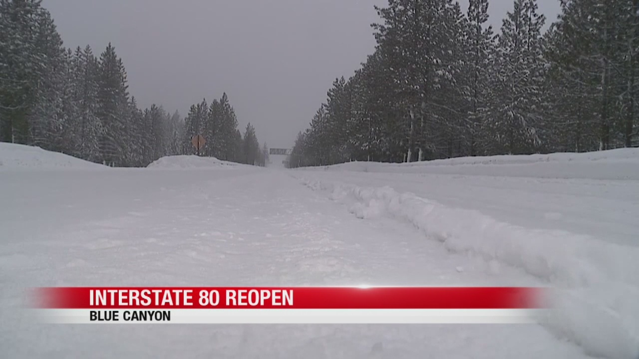 Snowy, icy roads make for hazardous travel conditions in the Sierra