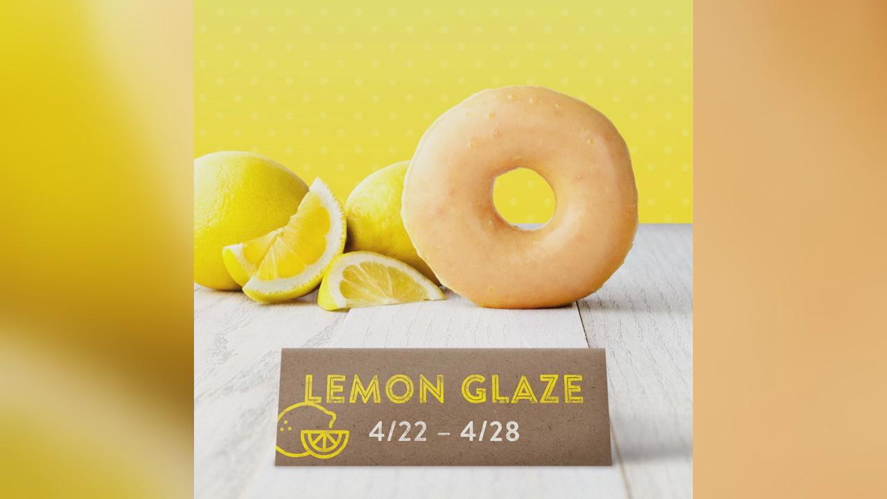 lemon glaze krispy kreme
