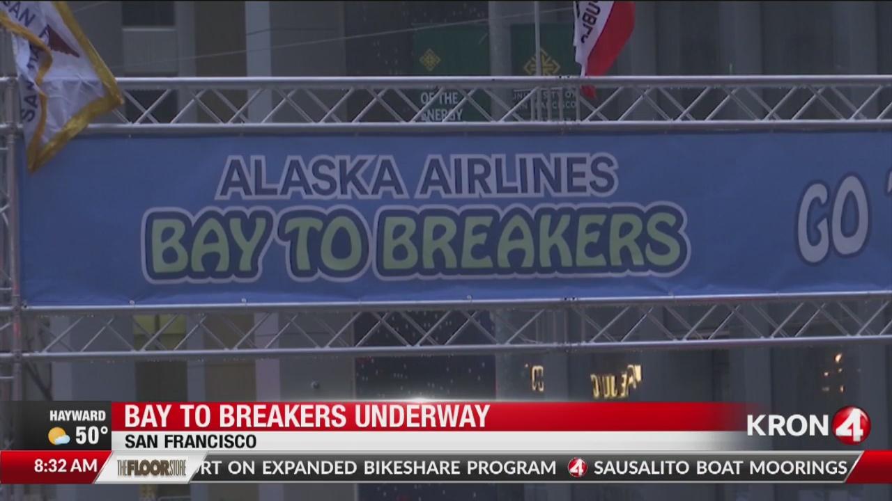 Bay to Breakers underway