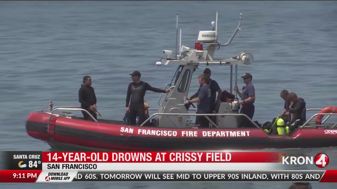14-year-old drowns at Crissy Field