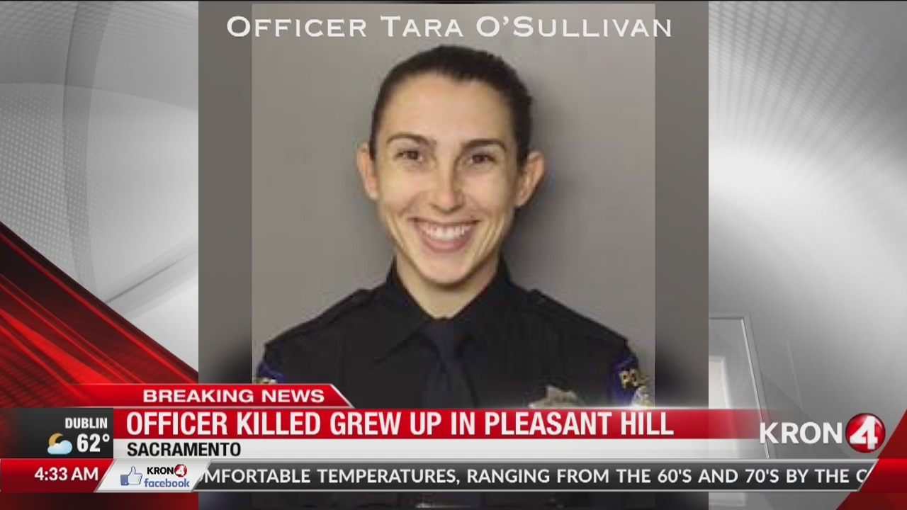 Sacramento police officer killed grew up in Bay Area