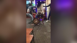 VIDEO: Violent brawl erupts at East Bay Golden Corral