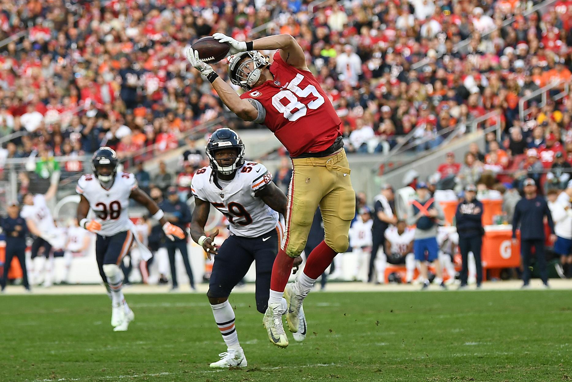 b04bf774 49ers TE George Kittle makes NFL Top 100 list | KRON4