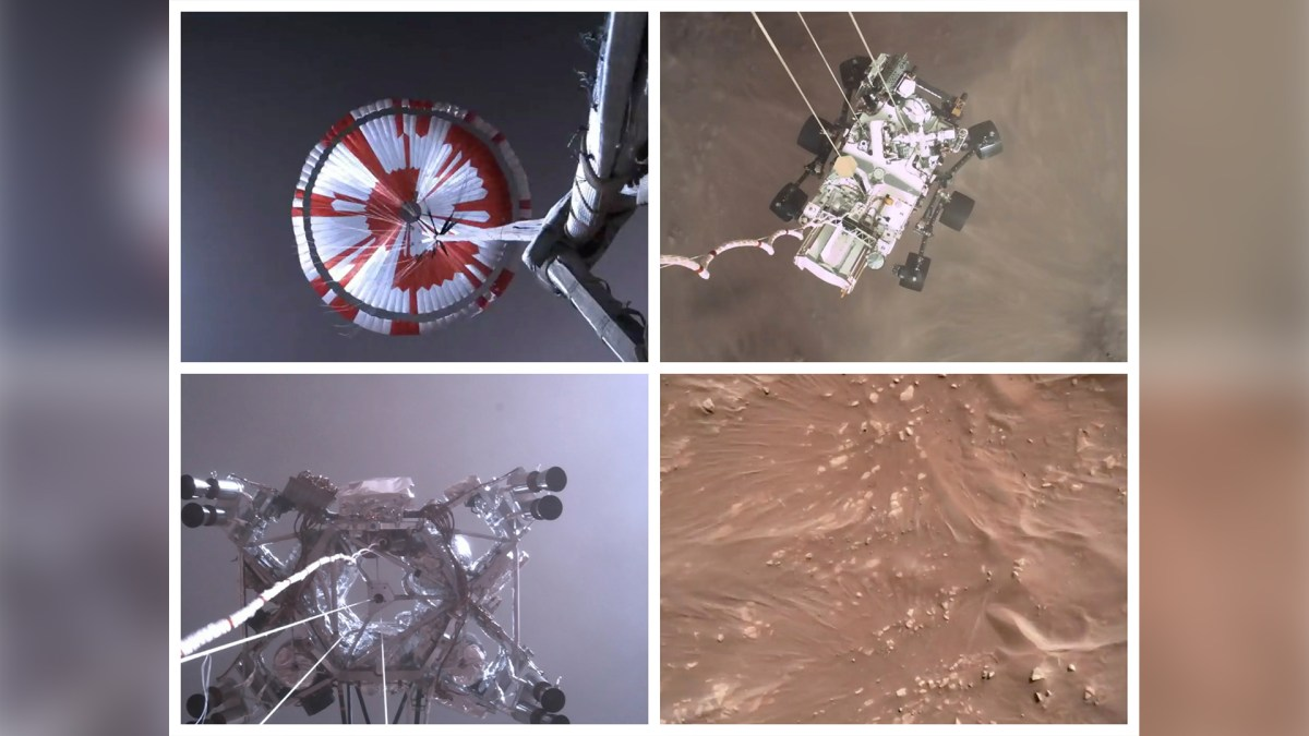 NASA releases first-of-its-kind video of Perseverance Rover touching down on Mars, Nzuchi Times