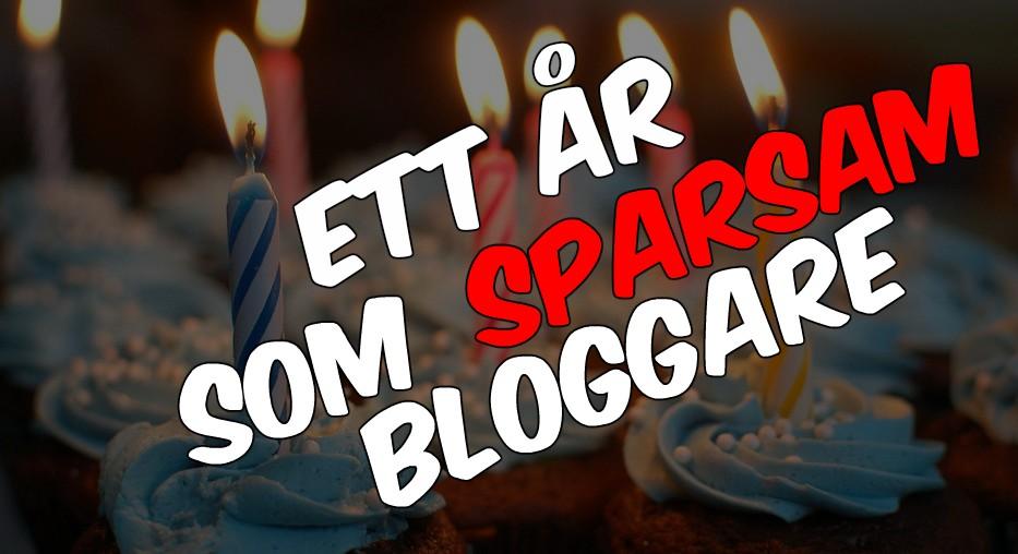 Ett år som bloggare