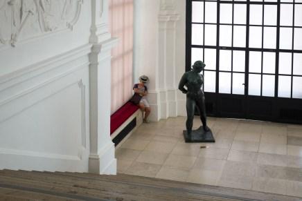 Over waarom je altijd moe wordt in een museum