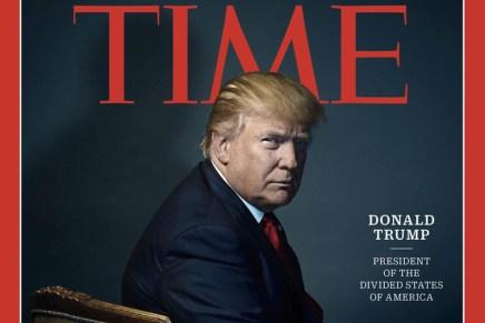 Trumps' foto op de cover van Time Magazine: 3x voer voor speculatie