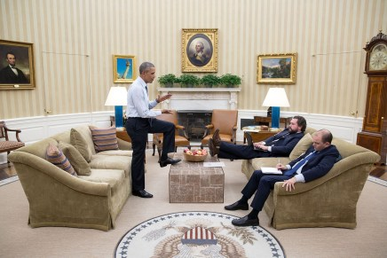 Ruim 2000 foto's per dag: de huisfotograaf van Obama