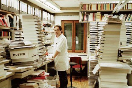 Uitgever Gerhard Steidl: Een fotoboek moet lekker ruiken