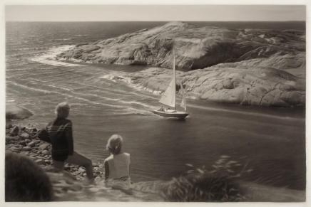 Dit is een geschilderde (!) foto door Gunnel Wålstrand