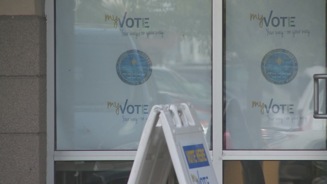 Early voting numbers high in New Mexico