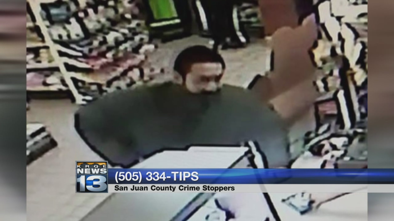 Deputies ask for help identifying Kirtland robbery suspect_787847