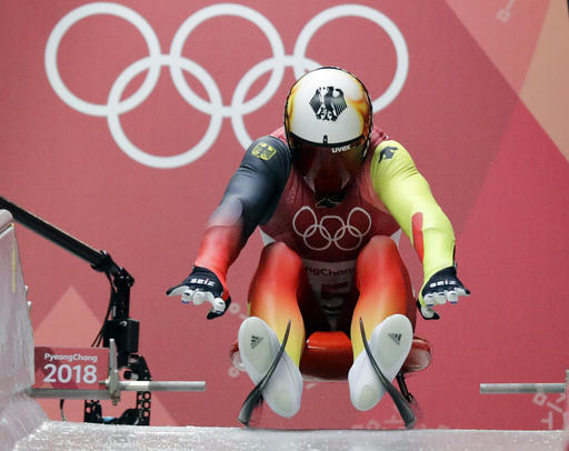 Pyeongchang Olympics Luge Men_790168