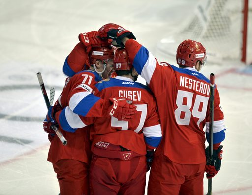 Pyeongchang Olympics Russian Red Machine_790707