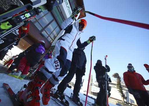 Pyeongchang Olympics Alpine Skiing_791932