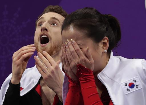Pyeongchang Olympics Figure Skating Ice Dance_797263