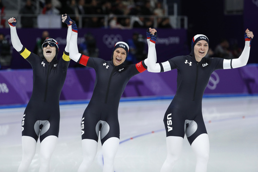 Pyeongchang Olympics Speed Skating Women_799302