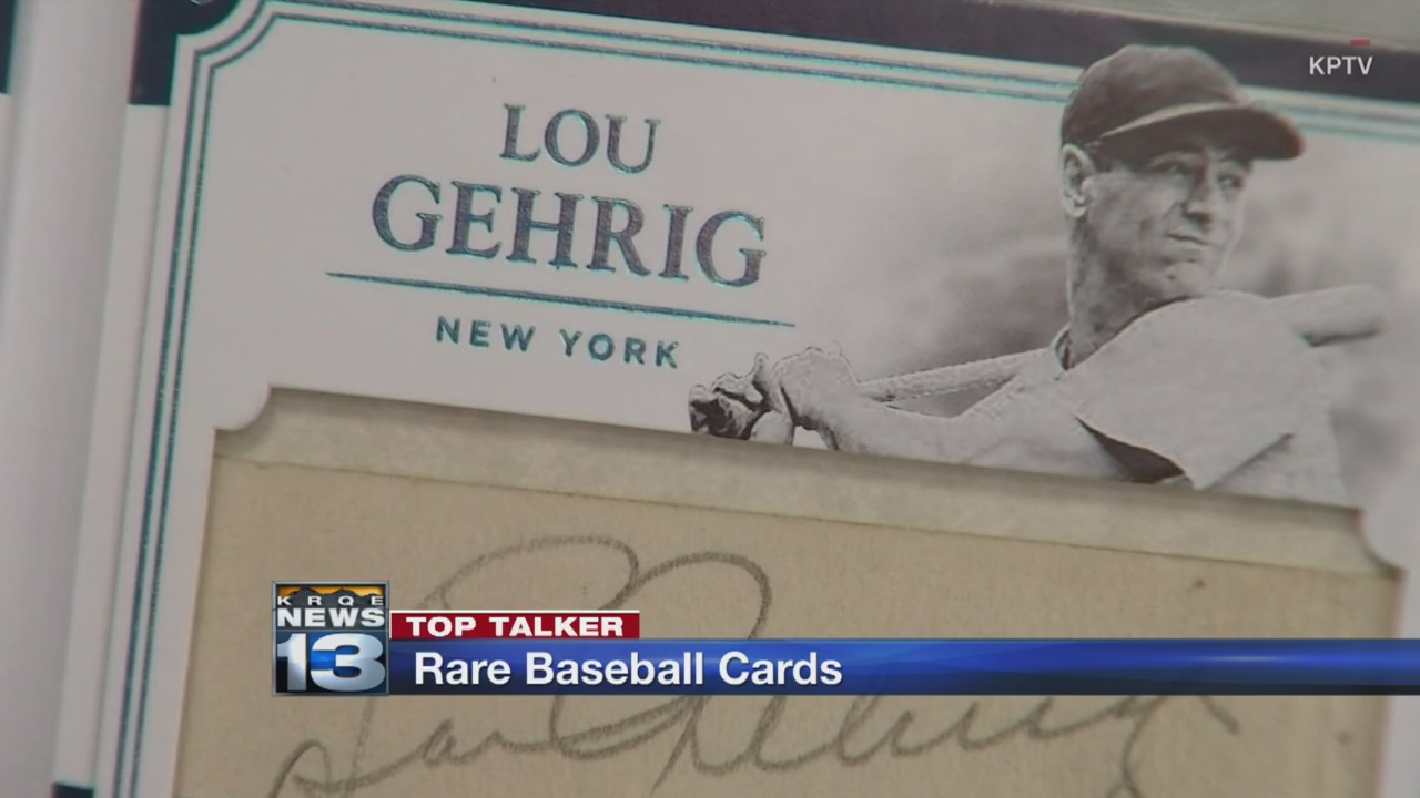 Vancouver Sports Collector Finds Baseball Cards Worth Up To