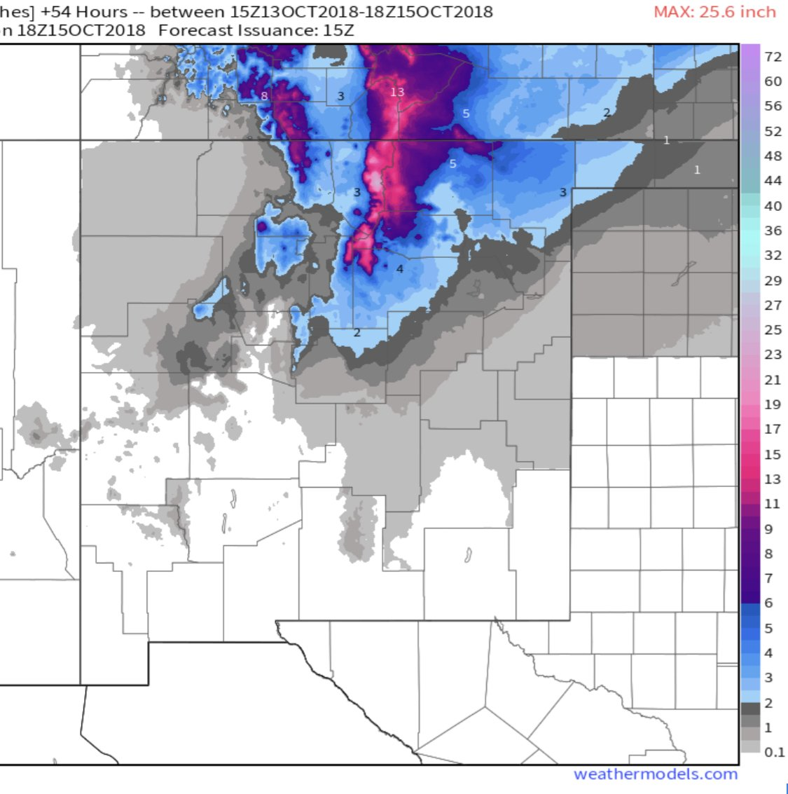 Winter weather makes its way into New Mexico