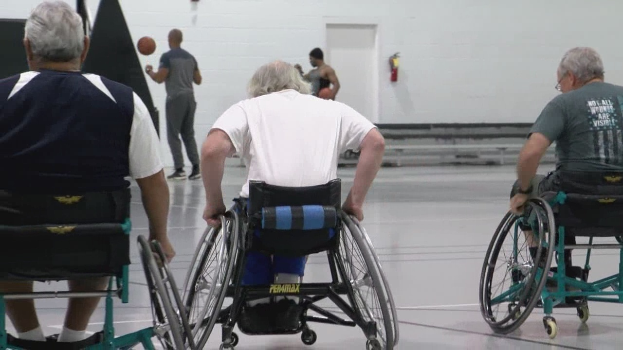 Wheelchair basketball league aims to help veterans acclimate to civilian life