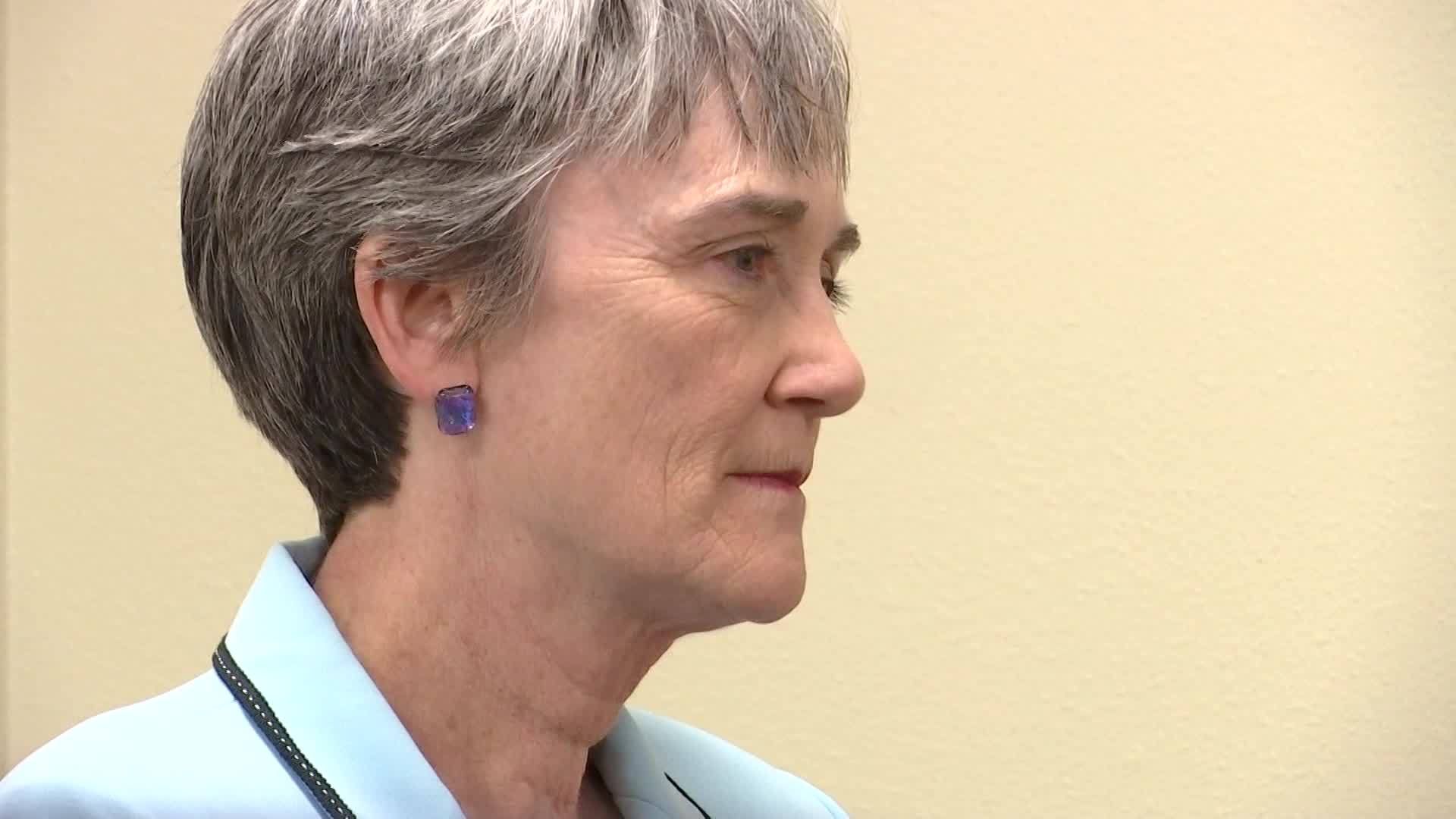 Full Heather Wilson Press Conference