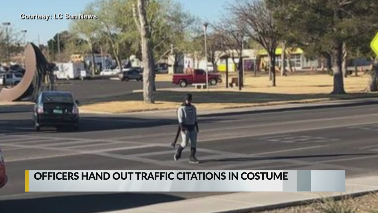 Las Cruces police officers issue citations while dressed as superheros_1552690696260.jpg.jpg