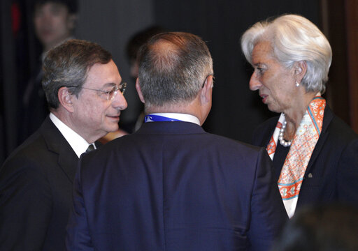 Christine Lagarde, Mario Draghi