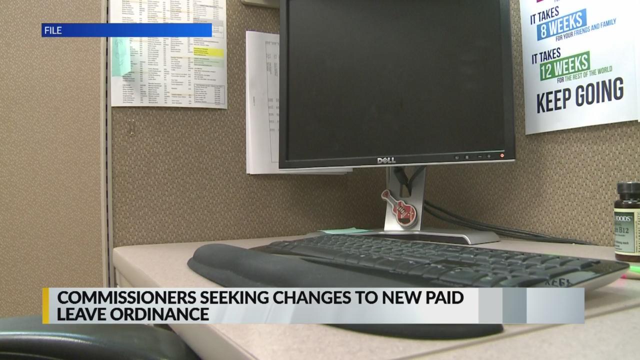 Commissioners seek to change new paid sick leave ordinance