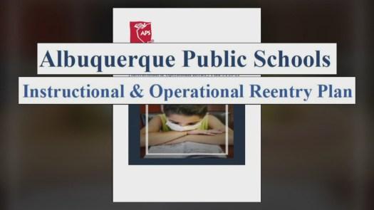 Albuquerque Public Schools publishes 64-page school reentry plan ...