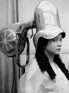 Vintage helmet hair drier