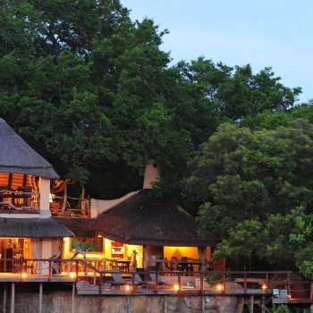 Jock Safari Lodge Lodge at Night