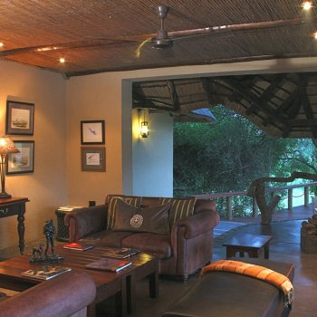 Jock Safari Lodge Lounging Area