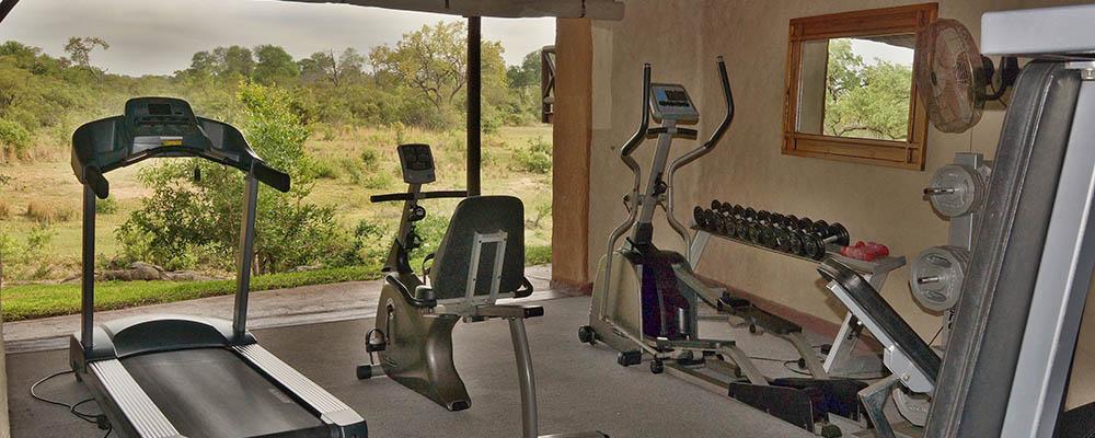 Lukimbi Safari Lodge Gym View Experience