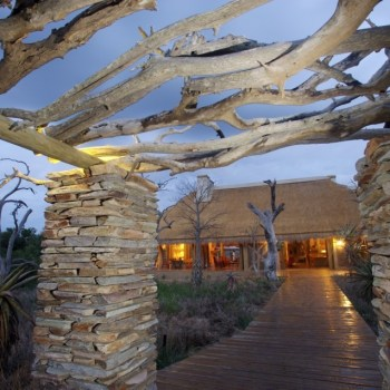 Kapama River Lodge Entrance