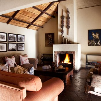 Chapungu Luxury Tented Camp Main Lounge