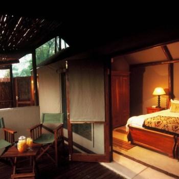 Chapungu Luxury Tented Camp Room View