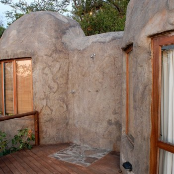Manyatta Rock Camp Honeymoon Suite Outside Shower