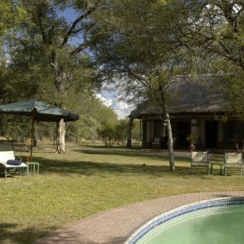 Nkaya Game Lodge Pool Area