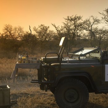 Thornybush Game Lodge Sundowner Drinks